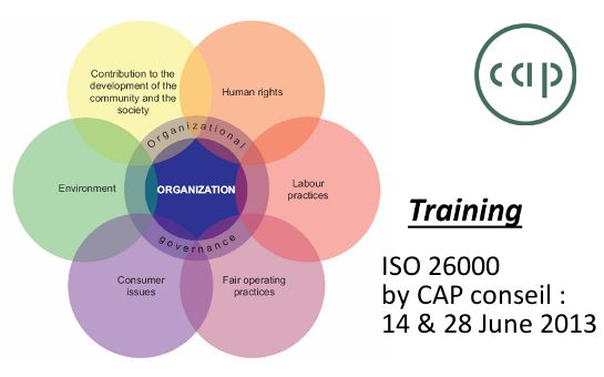 New ISO 26000 training !