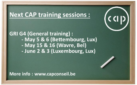 CAP Academy – Next training dates!